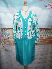 Frank Usher Dress and Jacket 14 Races Wedding Special Occasion Cruise Outfit