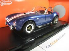 SHELBY COBRA 427 S/C 1/18 YAT MING - ROAD SIGNATURE (BLUE)