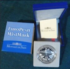 PIECE 1,1/2 EUROS BE ARGENT 2008 «EUROPEAN MINTMARK » MONNAIE DE PARIS .COFFRET