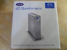 LaCie d2 Quadra USB 3.0 4TB USB 3.0 / 2 x Firewire800 / eSATA External Hard Driv