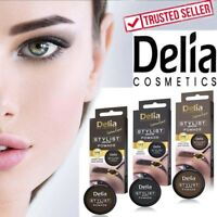 DELIA COSMETICS STYLIST BROW POMADE EYEBROW COLOUR UK SELLER
