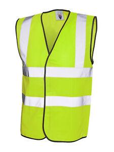 High Visibility Sleeveless Waistcoat UC801 XLarge
