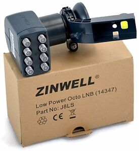 Zinwell Octo 8 Output Sky LNB Perfect for Free-to-Air & UK Freesat