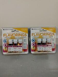 Candy Baking Flavoring .125oz Summer Fruit Blueberry/Raspberry/Pineapple 2 Packs