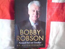 Copie signée Bobby Robson autobiographie. LIBRE-Post,