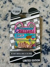 Alice in Wonderland Park Cruisers Pin – Limited Edition **In Hand**