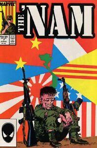 Nam #7 NM 1987 Marvel Comic Book