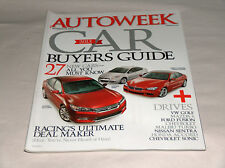 autoweek Octubre 2012 Car Truck REVISTAS BMW 6-series Gran Coupe HONDA Dodge