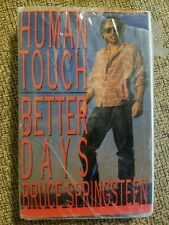 Bruce Springsteen Human Touch & Better Days Cassette Single -STILL SEALED-