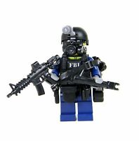 FBI SWAT Critical Incident Response CIRG Officer (SKU67) - made with real LEGO®