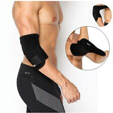 Elbow Arm Support Brace Protector Compression Adjustable Gym Padded Sport Tennis