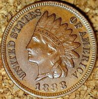 1888 Indian Head Cent - EXTREMELY FINE (M116)