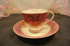 Vintage Shofu China Tea Cup and Saucer made in  Occupied Japan