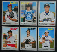 2019 Topps Heritage Minor League Chicago White Sox Base Team Set 6 Card