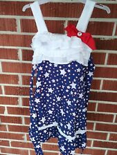 Nannette Fourth of July/Patriotic girls dress size 5 (looks to fit like size 4)