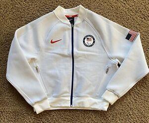 Nike 2020 USA Paralympic Olympic Tech Pack Fleece Jacket Medium