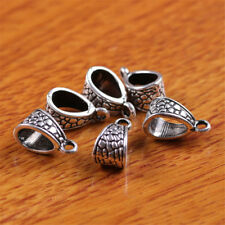 10 Piece 8*6mm Hole Charms Tibetan Silver Connector Bails Linker Jewelry 7287C