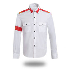 Michael Jackson CTE Man in Mirror Classic Billie Jean Tops Anti-war Shirt Blouse