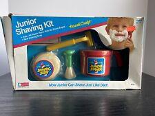 Vintage 1988 Handcraft Junior Shaving Kit Toy Play Set- NEW!