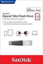 SanDisk® iXpand™ Mini 256GB Flash Drive USB3.0 Stick For iPhone and iPad lightin