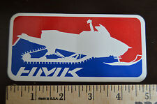 Authentic Hmk Snowmobile Sticker/Decal