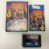 Double Dragon 3: The Arcade Game (Sega Genesis, 1992) Authentic-Tested