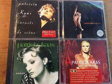 Patricia Kaas [4 CD Alben] Dans ma Chair + Vous + Carnets de scene +Rendez Vous