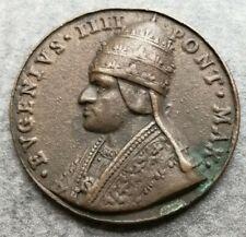 Medaglia Vaticano Eugenio IV Canonizzazione San Nicola Da Tolentino 20gr 40mm