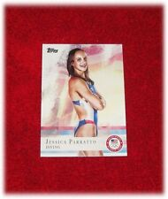 2012 TOPPS US OLYMPIC TEAM #16 JESSICA PARRATTO DIVING BASE CARD