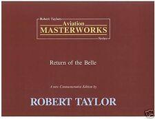 Robert Taylor Return Of The Belle Aviation Art FLYER