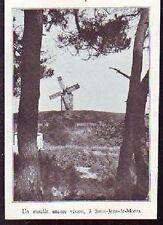 1933  --  SAINT JEAN DE MONTS  MOULIN VIVANT  R538
