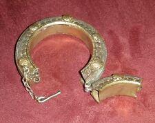Antique Metal Ethnic Bedouin Bracelet Palestine Yemen Yemeni Yemenite