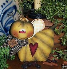 Primitive Bumble Bee Bug Garden Doll Ornie Paper Pattern #448