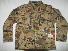 UNDER ARMOUR Ridge Reaper Wool Camo 1309018 Mid Season Warm Full Zip L Jacket