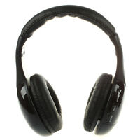 5-in1 HiFi Wireless Headphone Earphone FM Radio Monitor MP3 PC TV Audio Mob P2P0