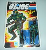 *RECARDED* 1989 GI Joe Night Viper Figure Complete Sealed *CUSTOM File Card Back