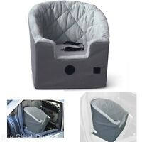 Premium Pet Dog Cat Bucket Booster Seat Cushion Car Travel Carriers Safety Gift