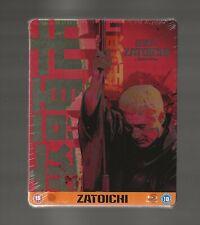 ZATOICHI - UK EXCLUSIVE BLU RAY STEELBOOK - NEW & SEALED