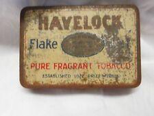 VINTAGE HAVELOCK FLAKE CUT PURE FRAGRANT TOBACCO TIN