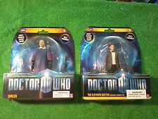 Underground Toys Doctor Who Smiler & Eleventh Doctor Cowboy Hat Figures (New)