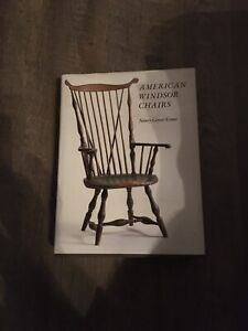 American Windsor Chairs Nancy Goyne Evans First Edition