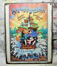 Splash Mountain Handmade Disney World Ride vintage sign