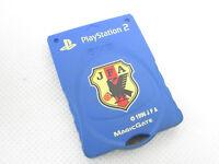 PS2 Memory Card 8MB HORI JFA Japan Blue Kotobuki KMC20J Playstation 2 8310