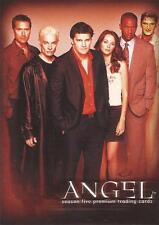 "Angel Season 5 - A5-SD2004 ""Coming Sept 2004!"" San Diego Comic Con Promo Card"