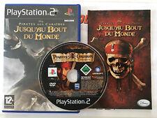 Pirates des Caraïbes : Jusqu'au Bout du Monde > Playstation 2 > Complet > PAL FR