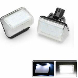Vehicle Number License Plate Light Lamps LEDs Assembly For Mazda 6 GG Sedan 2PC