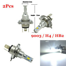2x H4 HB2 LED Car Headlight Kit 80W High-Low Beam Bulb CREE 6000K Lamp White