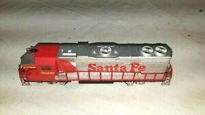 Life Like Santa Fe 3600 Weighted Dummy Locomotive HO Scale