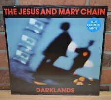 THE JESUS AND MARY CHAIN - Darklands, Limited 180 Gram BLUE VINYL New & Sealed!