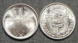 Lot Of 2 Nice World Silver Coins - (1968)VI Vatican City & 1953 Panama